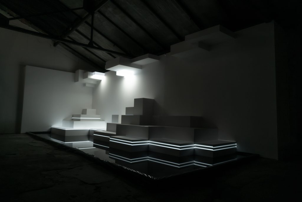 Light Fountain | Joan Giner | Festival Pléïades, Saint-Etienne