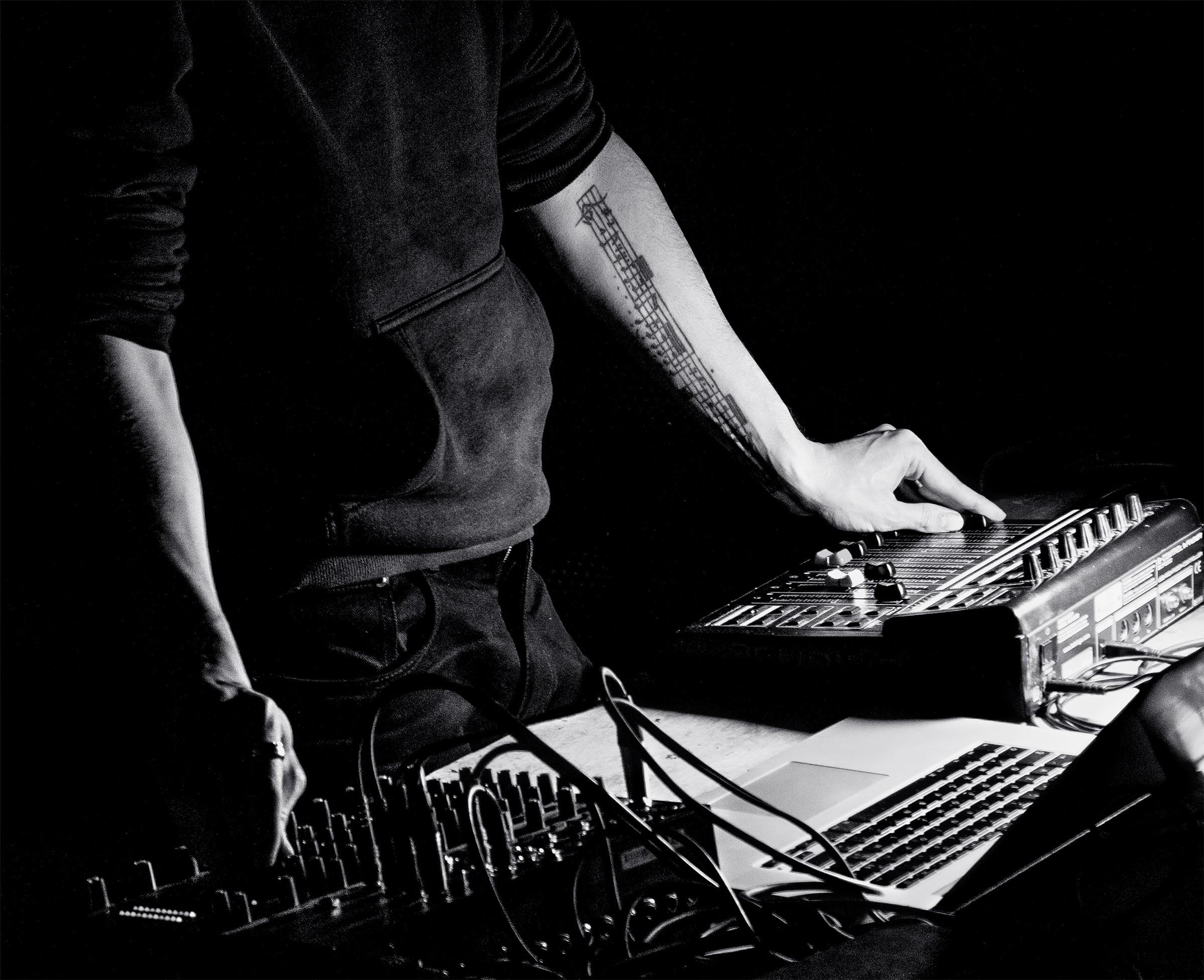 Nicolas Montgermont, artiste sonore, CROSSED LAB.