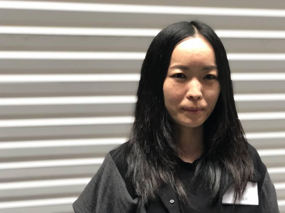 Portrait d'Heewon Lee, artiste multimédia, Corée du Sud, CROSSED LAB.