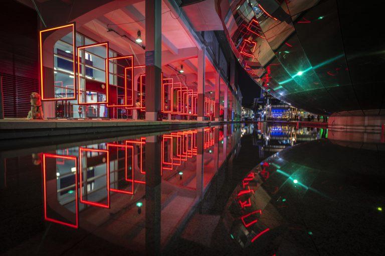 Frame Perspective | Bristol Light Festival, UK