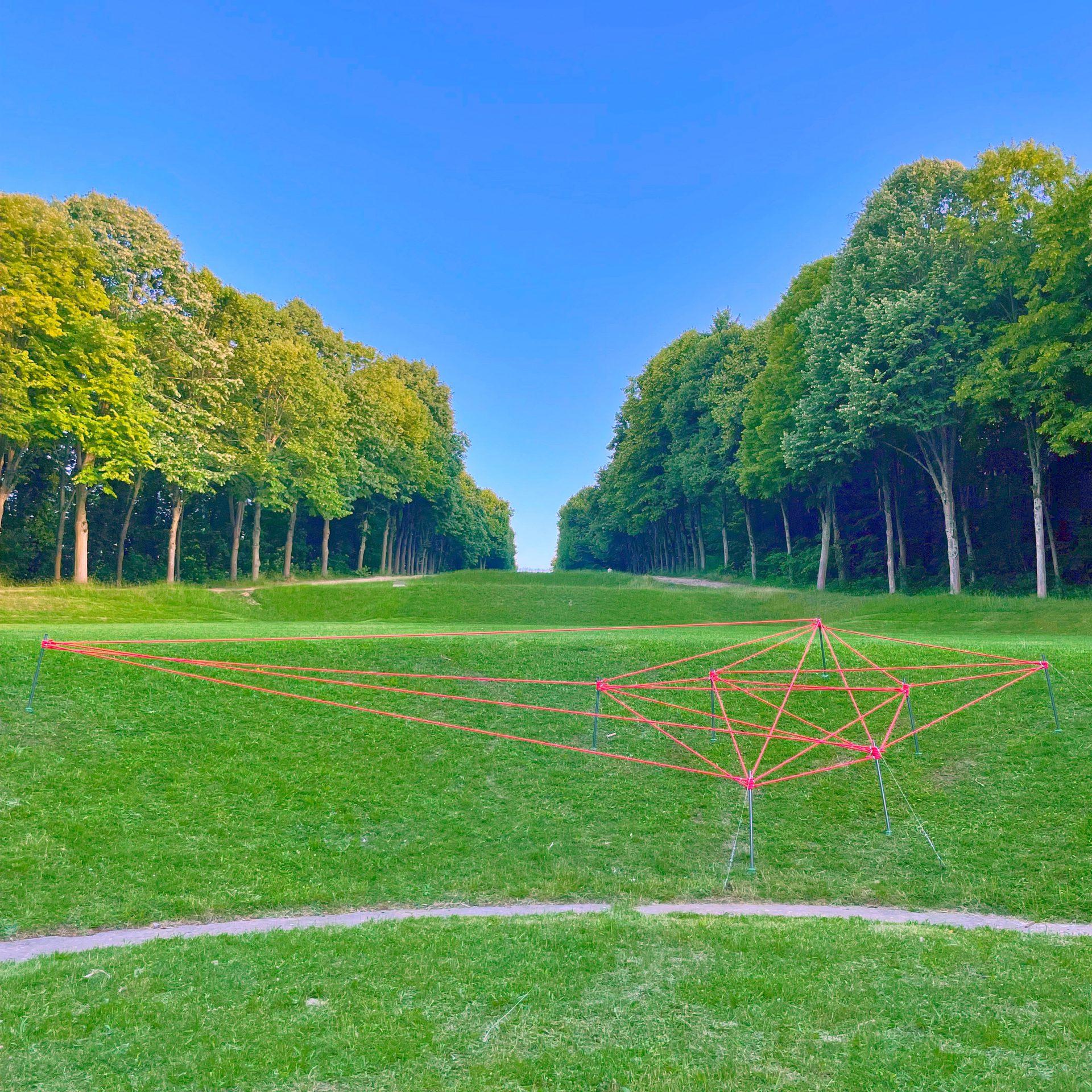 Installation artistique Distances de Stéphane Bissières